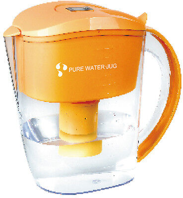 Alkaline Water Ionizer Filtered Jug plus 4 filters. Coconut and Carbon activated