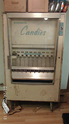 vintage candy vending machine