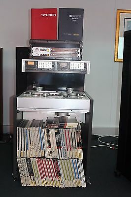 Reel to Reel , Studer A80 + Dolby 361 A + master tapes over 60 units used con