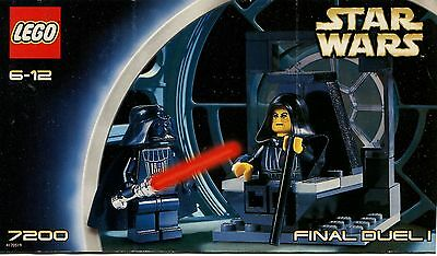 LEGO Star Wars 7200 Final Duel 1 Instruction Manual : Booklet Only
