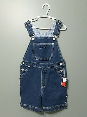 Tommy Hilfiger child shorts overalls jeans NEW