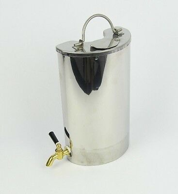 Portable Frontier stove water heater kettle billy stainless