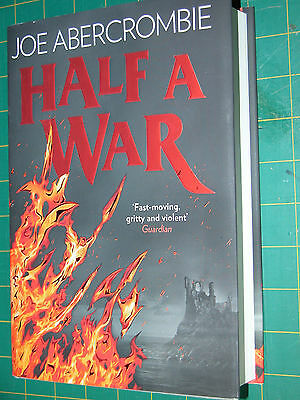 Half a War Signed by Joe Abercrombie 1st Edition New Unread H/B