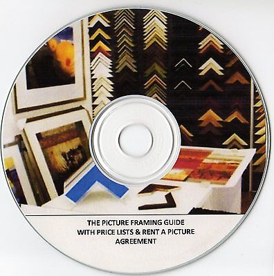 The Picture Framing Business On Cd