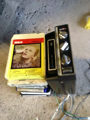 8 Track Player Car Hitachi Rolling Stones The Who Bowie Stevie Wonder Bob Dylan