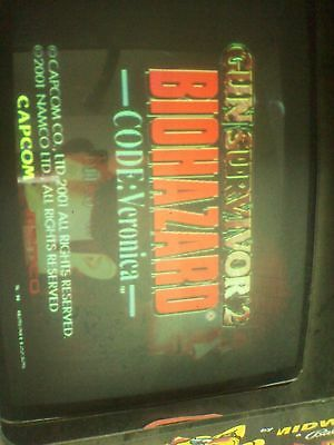 Naomi system arcade cartridge Gun Survivor2 Biohazard code: veronica