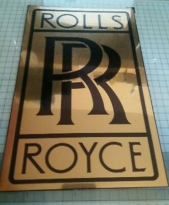 Rolls Royce Garage Sign Wall Plaque Classic Car Workshop Phantom Ghost Tool Box