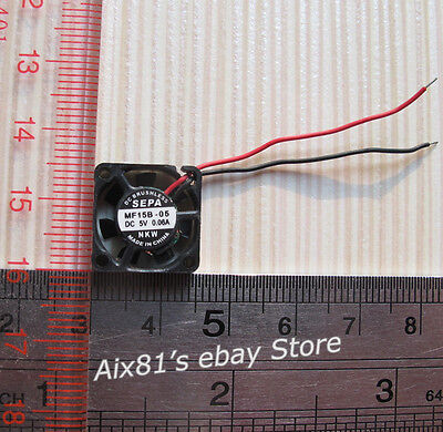 15x15x4mm Super Tiny Brushless DC 5V 0.06A Fan Mini Miniature Fan for Raspberry