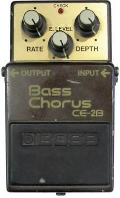 Boss CE2B Bass Chorus Pedal Green Label Made in Japan