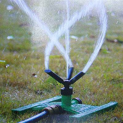 3 Arm Garden Watering Sprinkler Plant Lawn Farmland 360° Spray Irrigation System