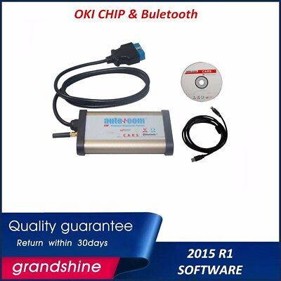 Newest CDP DELPHI 2015.1 software OKI Chip Auto Diagnostic tool with Bluetooth