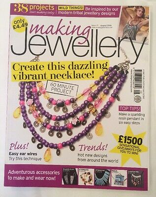 Making Jewellery Magazine August 2010