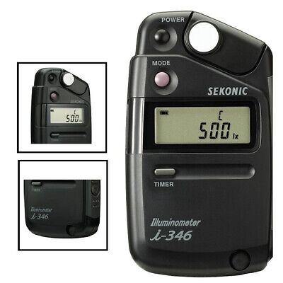 New 100% Genuine Sekonic i-346 Illuminometer i346 Illumino meter Illumination