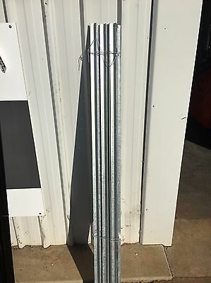 fencing star pickets - Pack Of 10 Galvanised 1650mm