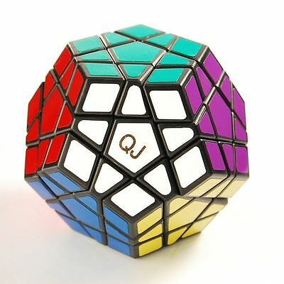 New 12 Side Color Polygon Toy Megaminx Twist Puzzle Magic Cube High Challenge M