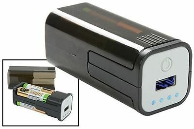 Emergency Battery Powered USB Charger, Powered by 4 AA batteries [421.770UK]