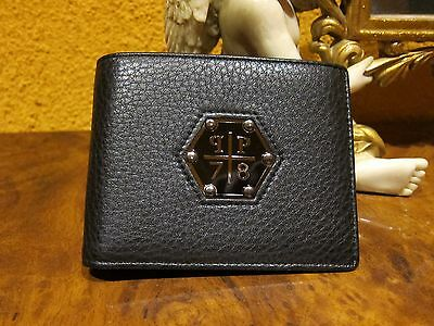 "NEW Super trendy Philipp Plein ""78"" leather Wallet"