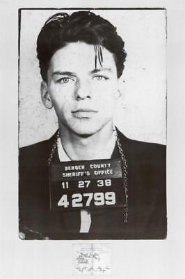 Frank Sinatra Mugshot Poster 61 X 91cm Wall Decor Art Home New