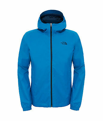 North Face men's Blue Quest Jacket Medium Large Waterproof RRP £95