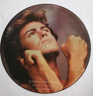 "George Michael - Careless Whisper 12"" Vinyl Picture Disc Ultra Rare!! 1984"
