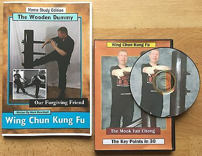 Wing Chun Wooden Dummy DVD and Book set