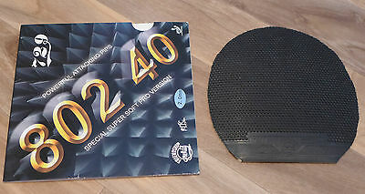 Friendship 729 R.I.T.C 802 40 Pimples Out Table Tennis Rubber Black 2.0