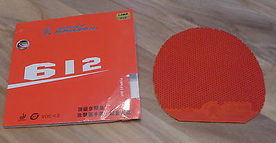 Giant Dragon 612 Turbo Table Tennis Rubber - Red 1.5mm