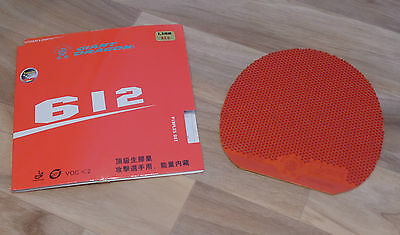 Giant Dragon 612 Table Tennis Rubber - Red 1.5mm