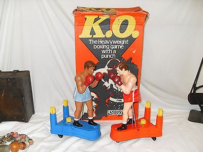 Vintage K.O - HEAVYWEIGHT BOXING GAME - by Parker - Rare 1970's Toy