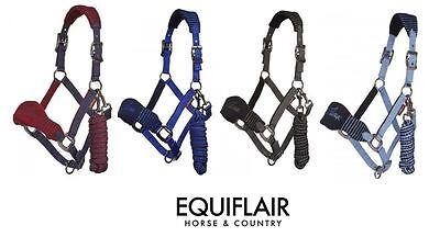 LeMieux Vogue Fleece Headcollar with Leadrope Set