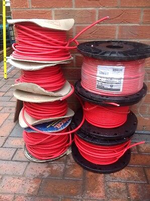 FP200 Job Lot  1.5MM 2 Core Red Fire Alarm Cable