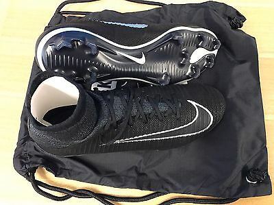 Nike Black Mercurial Superfly FG V Tech Craft RRP £250 Football Boots Size UK8.5