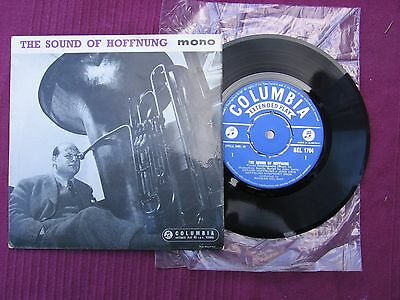 "Gerard Hoffnung "" The Sound Of Hoffnung "" 7"" 45 vinyl E.P. 'record Issued 1958"