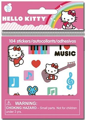 SandyLion 8 Sheet Hello Kitty Birthday Party Favor  Stickers