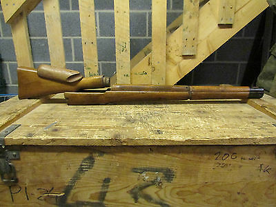 lee enfield no4 mk1 sniper wood, un issued.butt, fore stock and 2 top handguards
