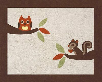 Forest Friends Accent Floor Rug by Sweet Jojo Designs