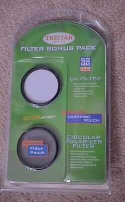 Lot Of 26 Packs 52Mm Filter Uv And Circular Polarizers With Carrying Pouch