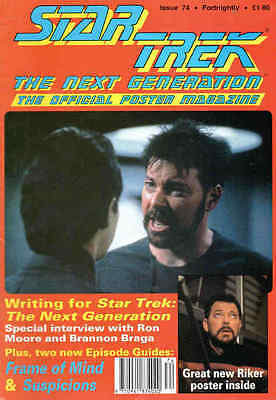 Star Trek: The Next Generation – The Official Poster Magazin Nr. 74