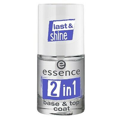 Essence 2 in 1 Base & Top Coat with Special Multi Functional Formula 8 ml