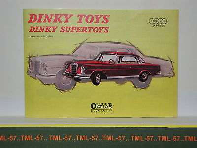 Catalogue DINKY TOYS SUPERTOYS 1963 - F - Editions Atlas - 32 pages - Etat neuf