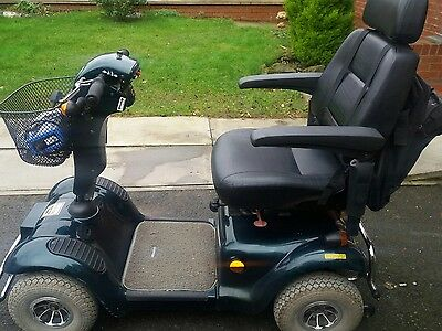 MERCURY M48 mobility scooter 8mph good workhorse good batteries can deliver