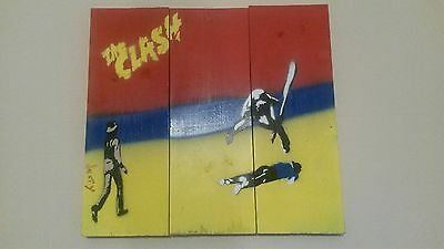 The Clash Artwork by denty 'London Town'