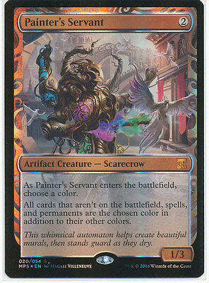MTG Masterpiece Series - Kaladesh Inventions - Painter's Servant Near Mint NM