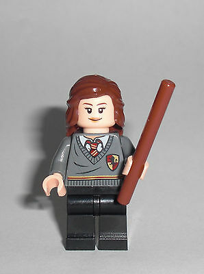 LEGO Harry Potter - Hermine - Figur Minifig Hogwarts Hermione Ron 4738 4842