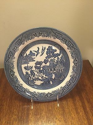 Churchill Blue Willow Staffordshire England Dinner Plate(s)
