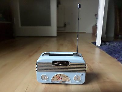 RADIO AM/FM GBC COLLECTION TWO Style Retro Portable Radio