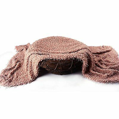 Sunmig Newborn Baby Photo Prop Blanket Rug Background Backdrops Basket Stuffer