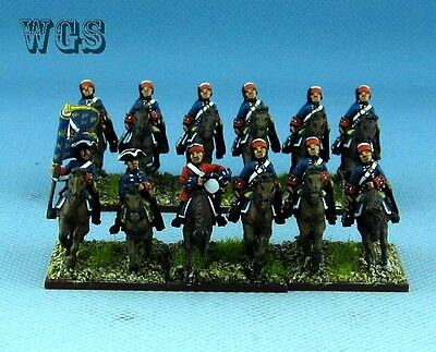 15mm SYW Seven Years War WGS painted French Dragoons in Bonnet (12 figures) FB3