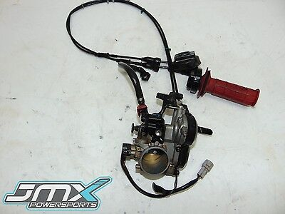 2011 Kawasaki KX450F Keihin Throttle Body Injector Cables TPS EFI OEM 11 KX 450F