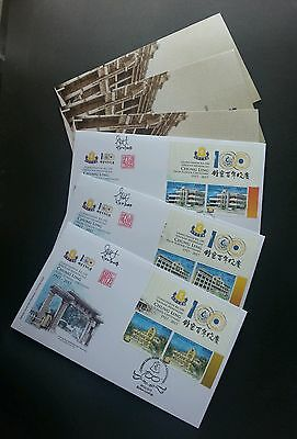 Malaysia Chung Ling High School Centenary 2017 (special FDC) *signed rare *limit